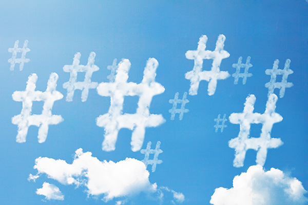 the evolution of hashtags in TV