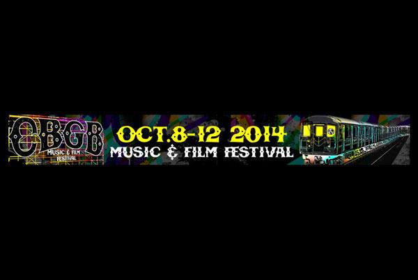 CBGB music and film festival oct 8-12 2014