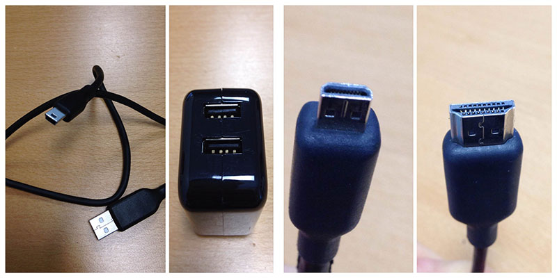 GoPro HDMI Cables and Power Supply