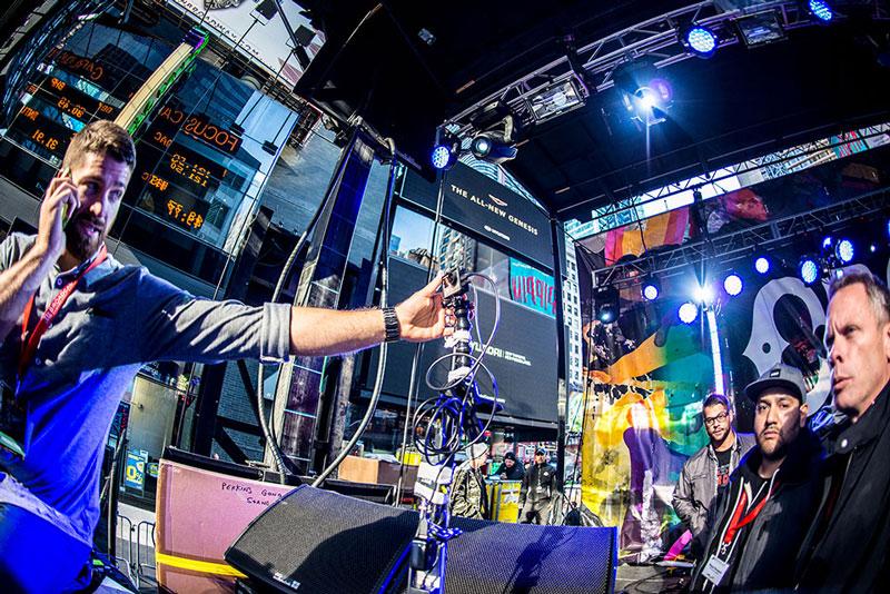 GoPro Integration at the 2014 CBGB Music Festival