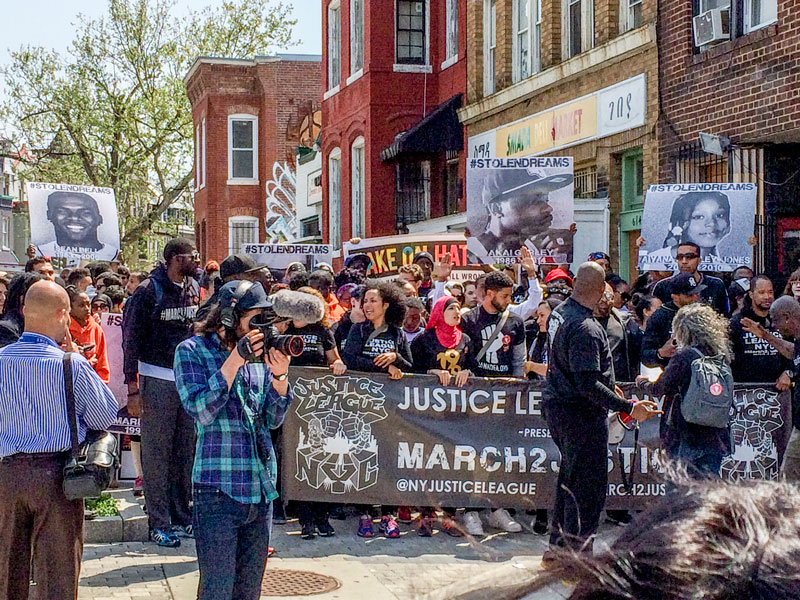 March to Justice, DC, BET, video production