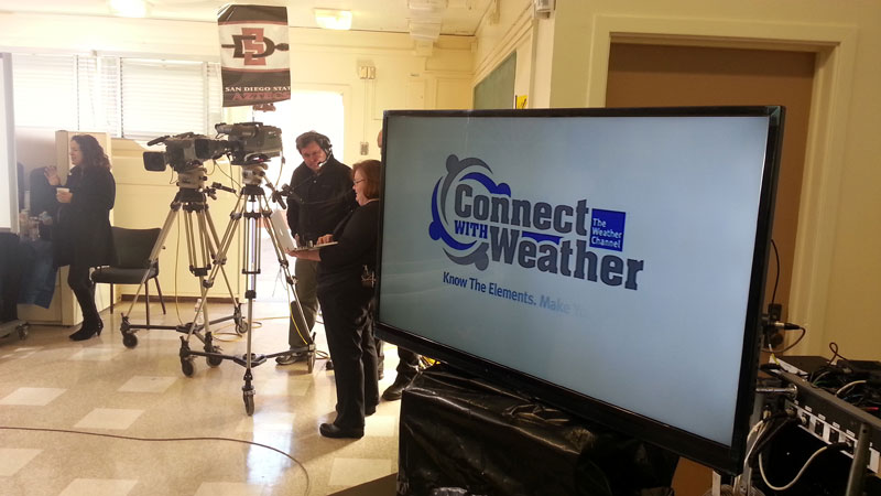Video Production-LA-Connect With Weather