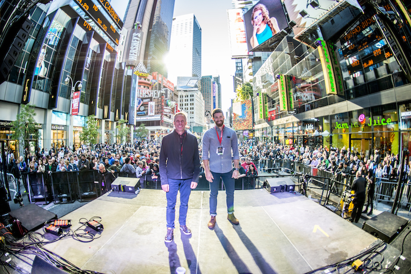 The Challenges of Live Production in Times Square