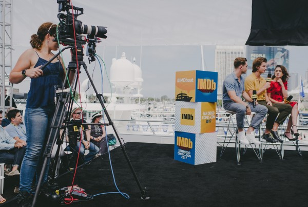 IMDb at San Diego Comic-Con Live