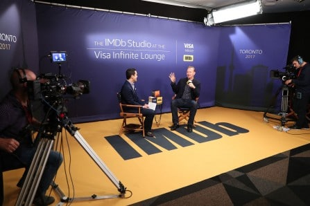 "IMDb | ""The IMDb Studio at Visa Infinite Lounge"""