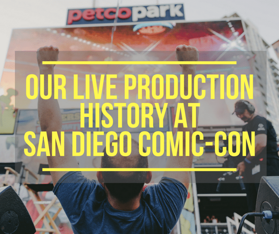 live production, remote production, video production, live production comic-con, video production companies, live streaming, live, streaming, production, video streaming, video production companies, live video production companies