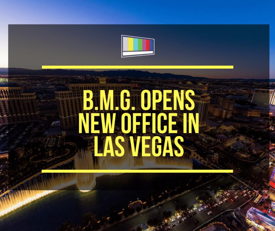 BMG Opens New Office in Las Vegas