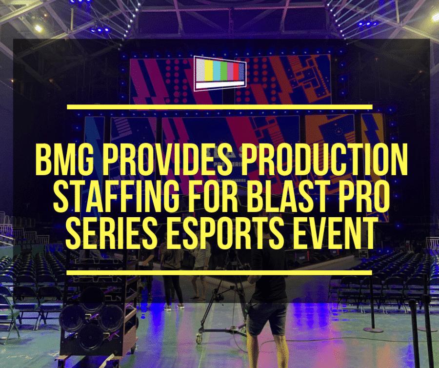 Esports Production Staffing