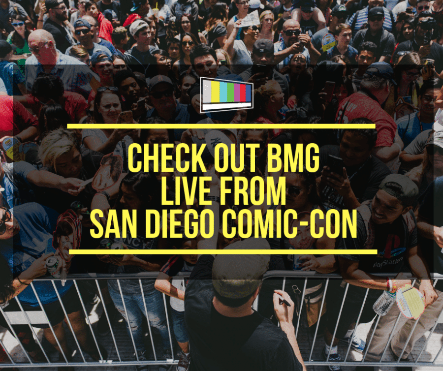 Live from San Diego Comic-Con